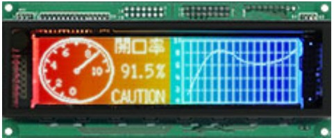 VFD Graphic Module 256x64 Dots 0.45mm DotPitch