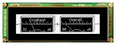 VFD Graphic Module 256x64 Dots 0.55mm Dot Pitch