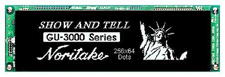 VFD Graphic Module 256x64 Dots 0.65mm Dot Pitch