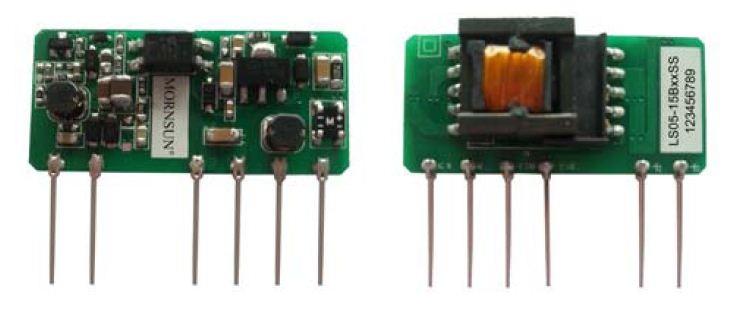 AC/DC 85 ~ 264VAC 5W Wide Input single 12V/420mA SIP