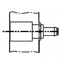 MAC Verschlusskupplung M5 absperrend