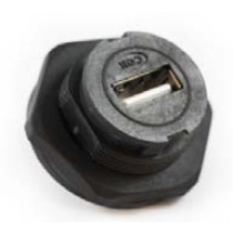 USB Panel Front Mount IP67
