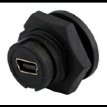 Mini USB front panel mount