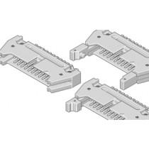 Flakafix Steckleiste abgew. 34-pol SMT