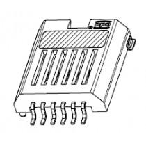 Codierchipsteckverbinder.