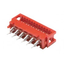 1.27 mm Micro Miniature gerade, Lötversion