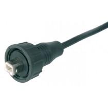 konf. mit Kabel 1 m, Konfektionsversion, IP67