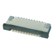 FFC Connector, ZIF, 1.00 mm, 12-polig