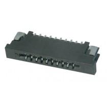 FFC Connector, ZIF, 1.00 mm, 04-polig