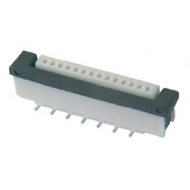 FFC Connector, ZIF, 1.00 mm, 25-polig