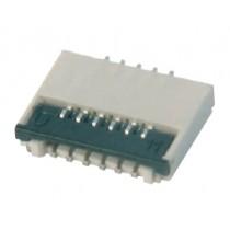 FFC Connector, ZIF, 0.30 mm, 25-polig
