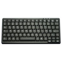 Industry 4.0 Mini Notebook Style Keyboard USB black, French layout