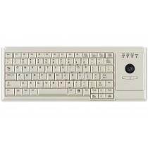 83 Key Notebook Style Trackball Keyboard, USB, light grey, French layout