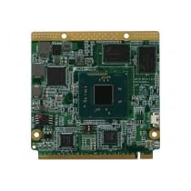 Q Seven CPU Module, Atom E3825 Dual Core 1.33GHz/6W, 2GB DDR3L