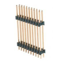 Stiftleiste 2 x 24 pol. gerade L=3.3/20.0/8.6 mm