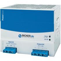 480W DIN Rail Netzteil, Input 85…264 VAC, Output 23…28 VDC 20A, -25…+75 °C
