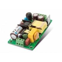 Netzteil 20W lüfterlos,90-264VAC,+12V, 1.7A, 1HE, 40.6 x 76.2 x 19.5 mm