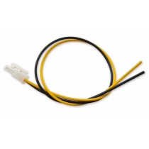 Cable harness, 2-pole, lenght 300 mm, ends open