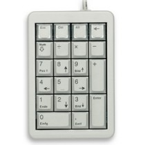 CHERRY Keypad USB programmierbar hellgrau US Layout