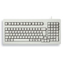 "CHERRY Keyboard COMPACT USB+PS/2 19"" hellgrau DE Layout"