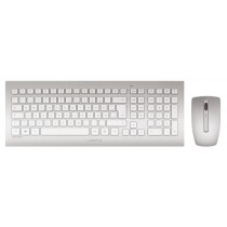 CHERRY Keyboard+Mouse DW 8000 wireless silber US/€ Layout