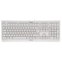 CHERRY Keyboard KC 1000 USB hellgrau US/€ Layout