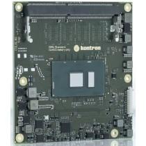 COM Express© compact type 6 Intel® Core™i5-7300U, 2x2.6GHz, DDR4 SO DIMM