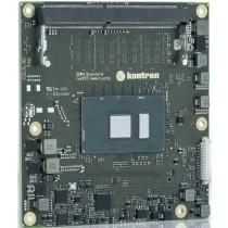 COM Express® Heatspreader for COMe-cSL COM Modules threaded holes
