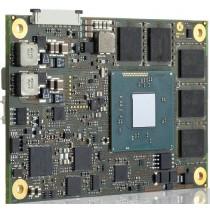 COM Express© mini type 10 Intel© AtomE3815, 1x1.46GHz, 1GB DDR3L ECC, 2GB SLC eMMC, ind. Temp