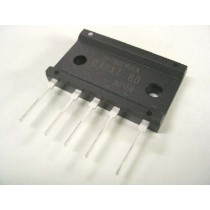 Three-Phase AC Bridge Diode 1600V 45A SIP pack.