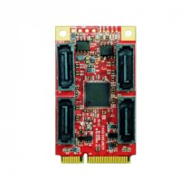 mPCIe to 4x SATA3 Module Wide Temp.