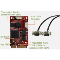 USB to dual isolated CANbus 2.0B Module -40..+85C