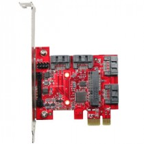 PCIe to 4x SATA3 Card