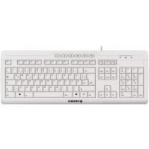 Keyboard STREAM 3.0 USB hellgrau DE Layout