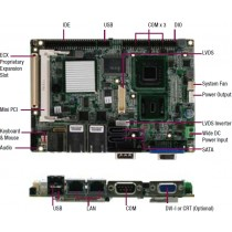 "3.5"" Board Atom N270 1.6GHz, fanless,wide DC,Touch, HSK on CPU"