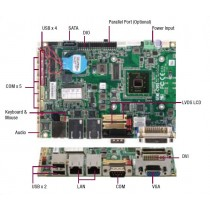 "3.5"" Board Atom N2600 1.6 GHz, 12VDC, cFAST Socket"