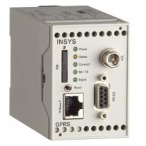 Mobile - serial Gateway, RS232/TTL w. modem emulation, call back after incoming call/SMS, Quadband-G