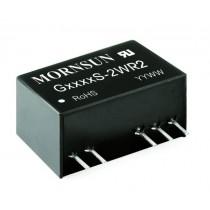 DC/DC 2W Input 5V dual Output +/-12V 6kVDC -40..+85C SIP