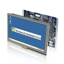 "4.3"" HMI OpenFrame 128MB/8MBSPI/USB/RS232/485/GPIO/SPK/CAN"