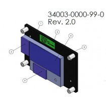 Heatspreader for COMe-mTT10, thread holes