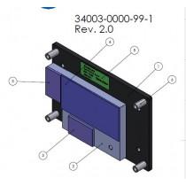 Heatspreader for COMe-mTT10, through holes