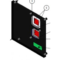 Heatspreader for COMe-cCT6, threaded mounting holes
