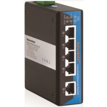 3onedata PoE Switch 1 port Eth.,4 ports PoE 10/100M unmanaged,-40+75C,48VDC