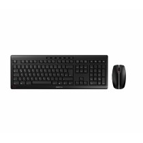 CHERRY Keyboard+Mouse JD-8560DE STREAM RECHARGE wireless+2.4GHz schwarz DE Layout