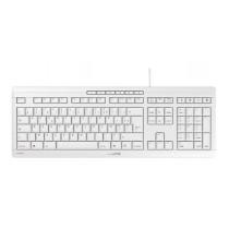 CHERRY Keyboard STREAM USB Ultra silent hellgrau FR Layout