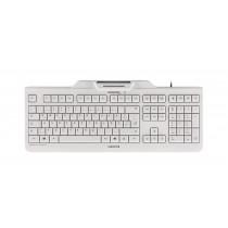 Tastatur KC 1000 SC, mit Kartenleser, USB, grau, CH Layout