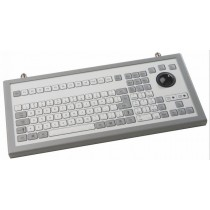 Keyboard with Trackball 38mm IP65 enclosed USB US-Layout