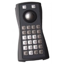 Keyboard 26 keys Trackball 38mm enclosed USB