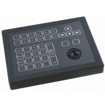 Keyboard with Trackball 25mm IP65 enclosed USB