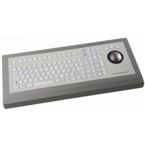 Keyboard with Trackball 50mm IP67 enclosed USB German-Layout